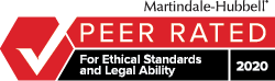 KVP Attorneys Receive 2020 Peer Review Rating™ from Martindale-Hubbell®